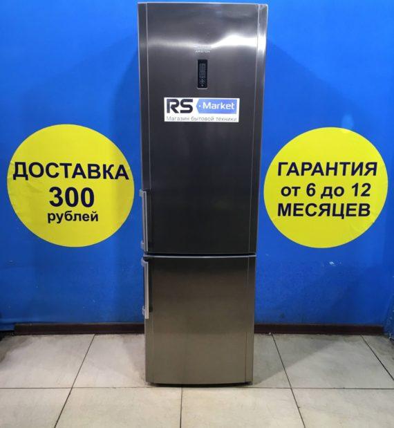 Б/у Холодильник Ariston HBU1201.4XNFH