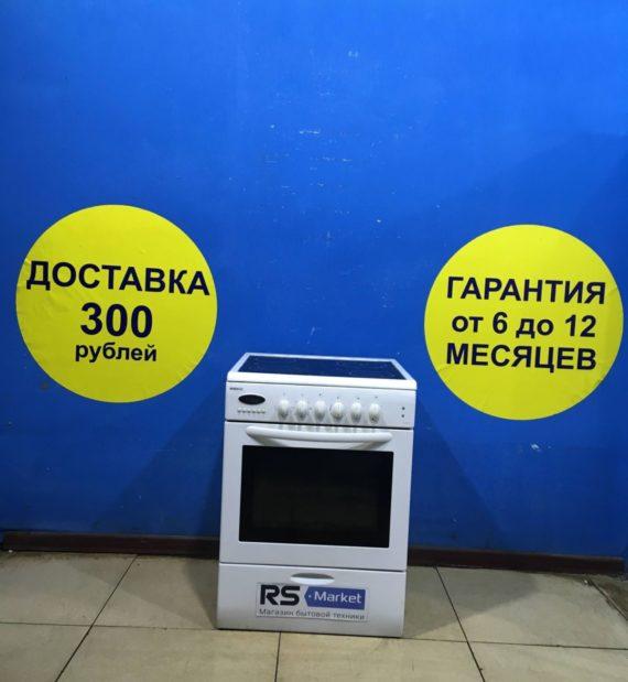 Б/у Электрическая плита Beko M6604CTW