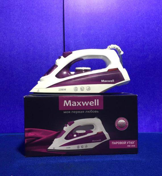 Утюг Maxwell MW3058VT