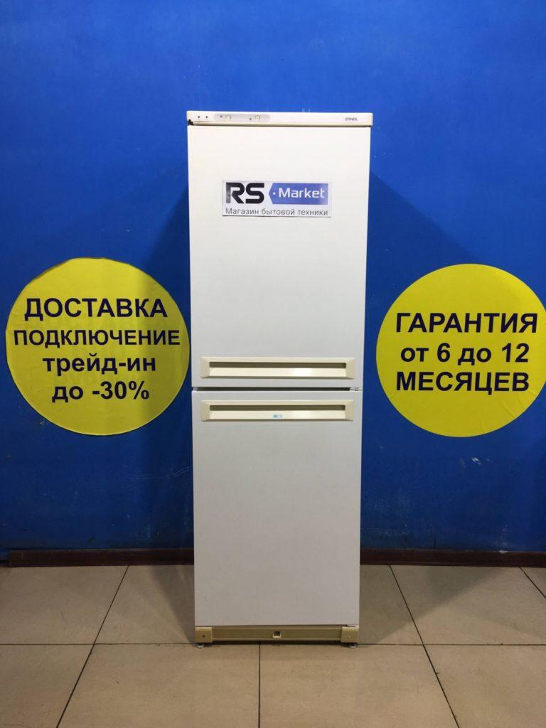 Б/у Холодильник Stinol KWMX-340/140