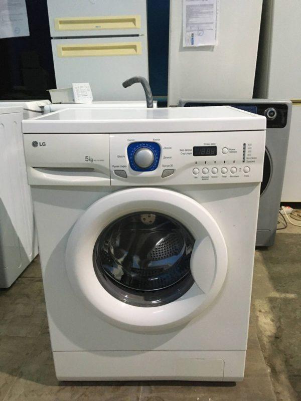Б/у Стиральная машина LG WD-10150NU
